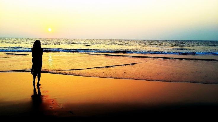 sunset-alone
