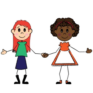 friends-clipart-image-two-friends-a-black-girl-and-white-girl-ybiyzj-clipart